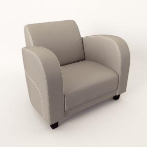 3d model Armchair – New design