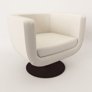 3d Model Armchair - New design