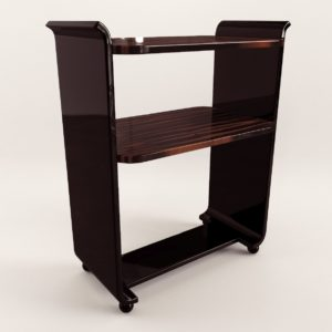 3d model Small etagere – Art Deco 1920