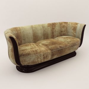3d model Sofa – Art Deco style