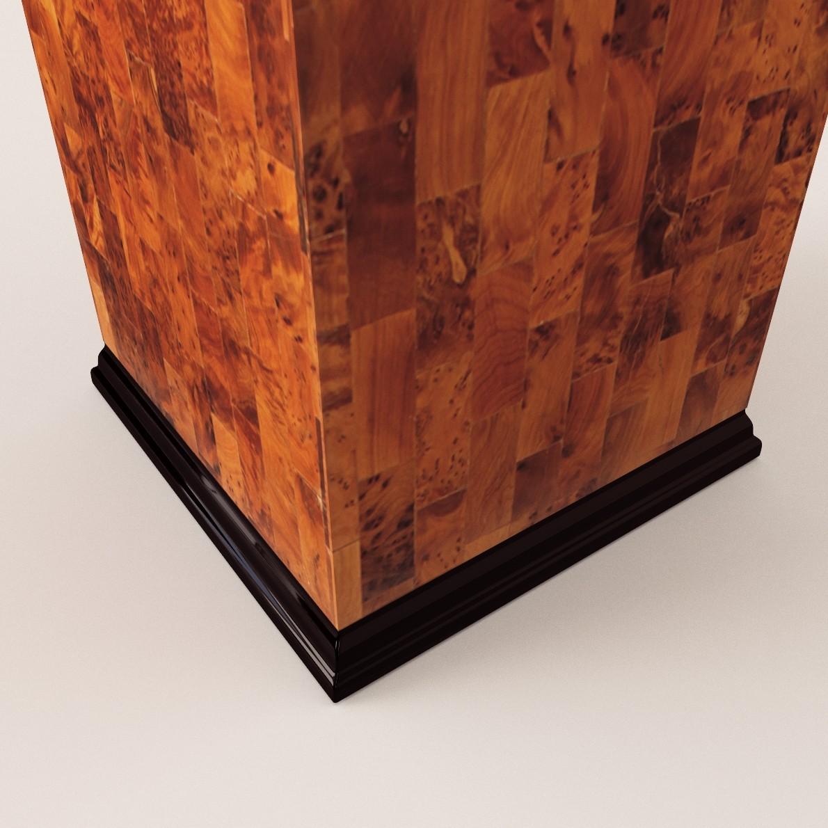 Art Deco Column 3d Realistic Model Artium3d