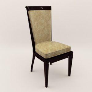 3d model Chair – Art Deco 1920