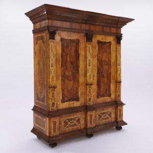 3d model Baroque cupboard – Germany 1720
