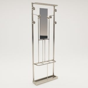 3d model Clothes rack – Art Deco 1930