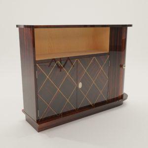3d model Bar commode – Art Deco 1920, France