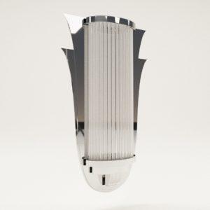 3d model Bracket lamp Strasbourg – Art Deco style