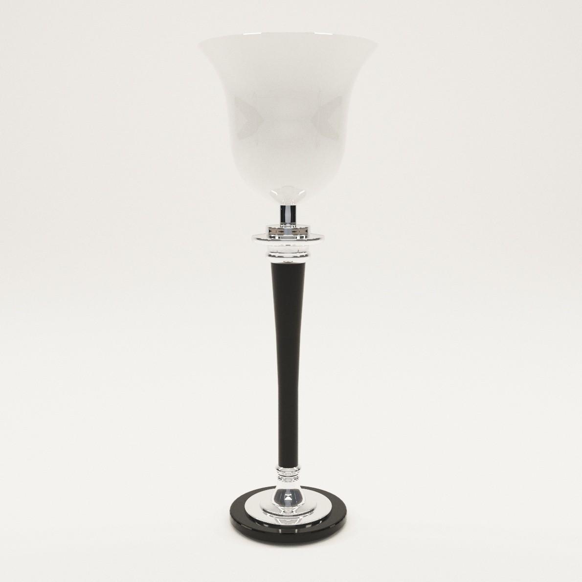 Art Deco Table Lamp Mazda 3d Realistic Model Artium3d