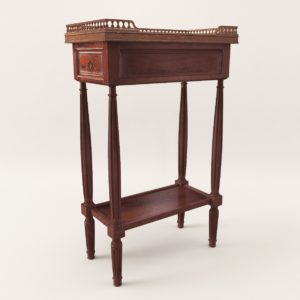 3d model Neoclassical side table – 1860