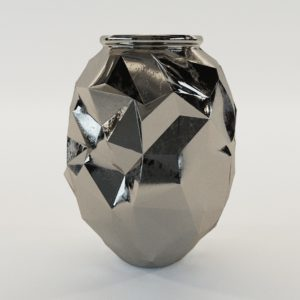 3d model Cubist vase – Art Deco 1930