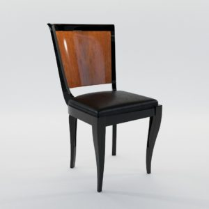 3d model Chair – Art Deco 1920