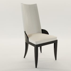 3d model Chair – Art Deco style