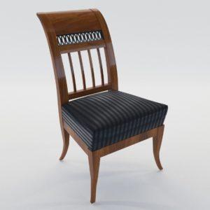 3d model Biedermeier chair – Munich, Germany 1805