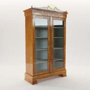 3d model Classicistic vitrine – Austria around 1800