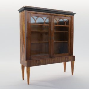 3d model Little vitrine – South Germany 1820