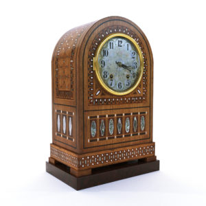 3d model Vienna secession table clock – Austria 1905