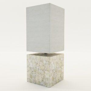 3d model Table lamp – 20. century