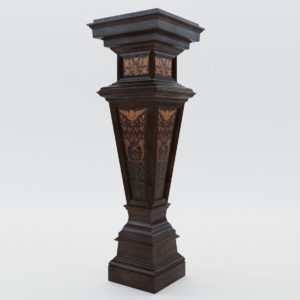3d model Column – Germany, Karlsruhe 1880, Manufactory by Heinrich Maybach