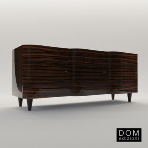 3d model Cabinet Wave – Design by Kaki Kroener (Dom Edizioni)