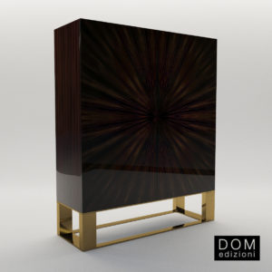 3d model Cabinet Gerard – Design by Domenico Mula (Dom Edizioni)