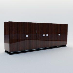 3d model Commode – Art Deco style