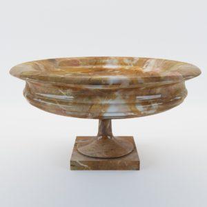 3d model Marble dish – Italy, 19. century