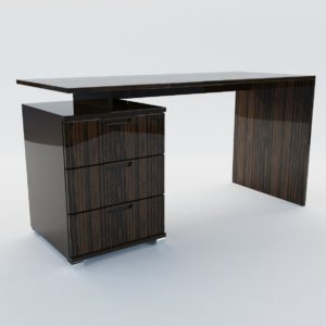 3d model Lady's writing desk – Art Deco style