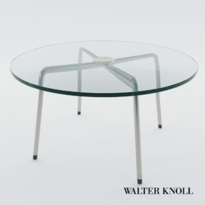 3d model Small table 369-T1 – Design by Walter Knoll