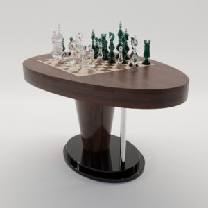 3d model Chess game table – New design, design by D. Mocko