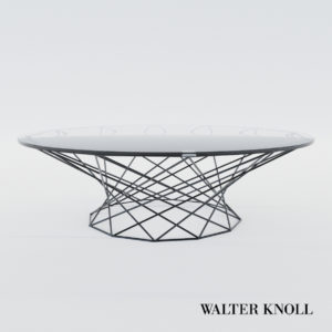 3d model Table Oota – Design by EOOS (Walter Knoll)