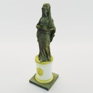 3d model Classical sculpture of woman – France 1780