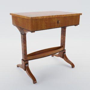 3d model Biedermeier sewing table – Munich, Germany 1820