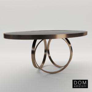 3d model Small table Ottoline – Design by Andrea Fogli (Dom Edizioni)