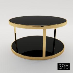 3d model Small table Luigi coffe, Luigi queridon – Design by Domenico Mula (Dom Edizioni)