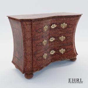 3d model Fantastic baroque commode – Germany 1750