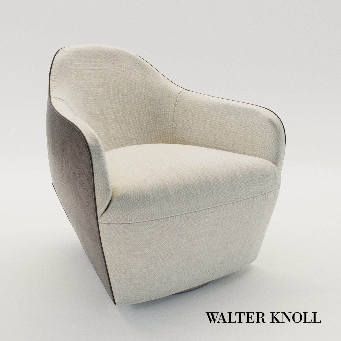 3d model Armchair Isanka – Design by EOOS (Walter Knoll)