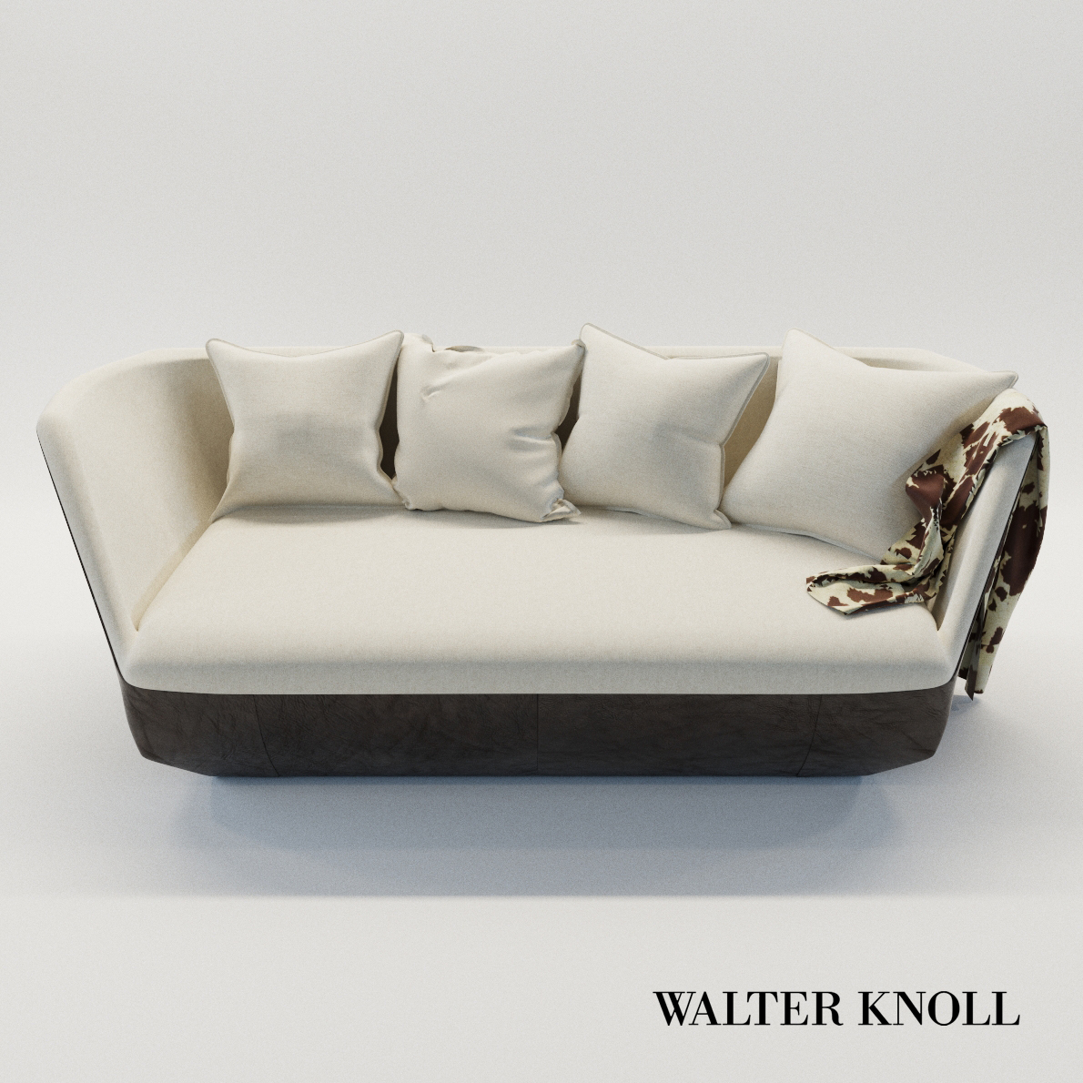 3d model Sofa Isanka – Design by EOOS (Walter Knoll)