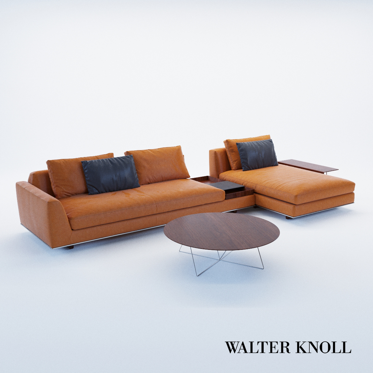3d model Sofa Tama Living – version C – Design by EOOS (Walter Knoll)