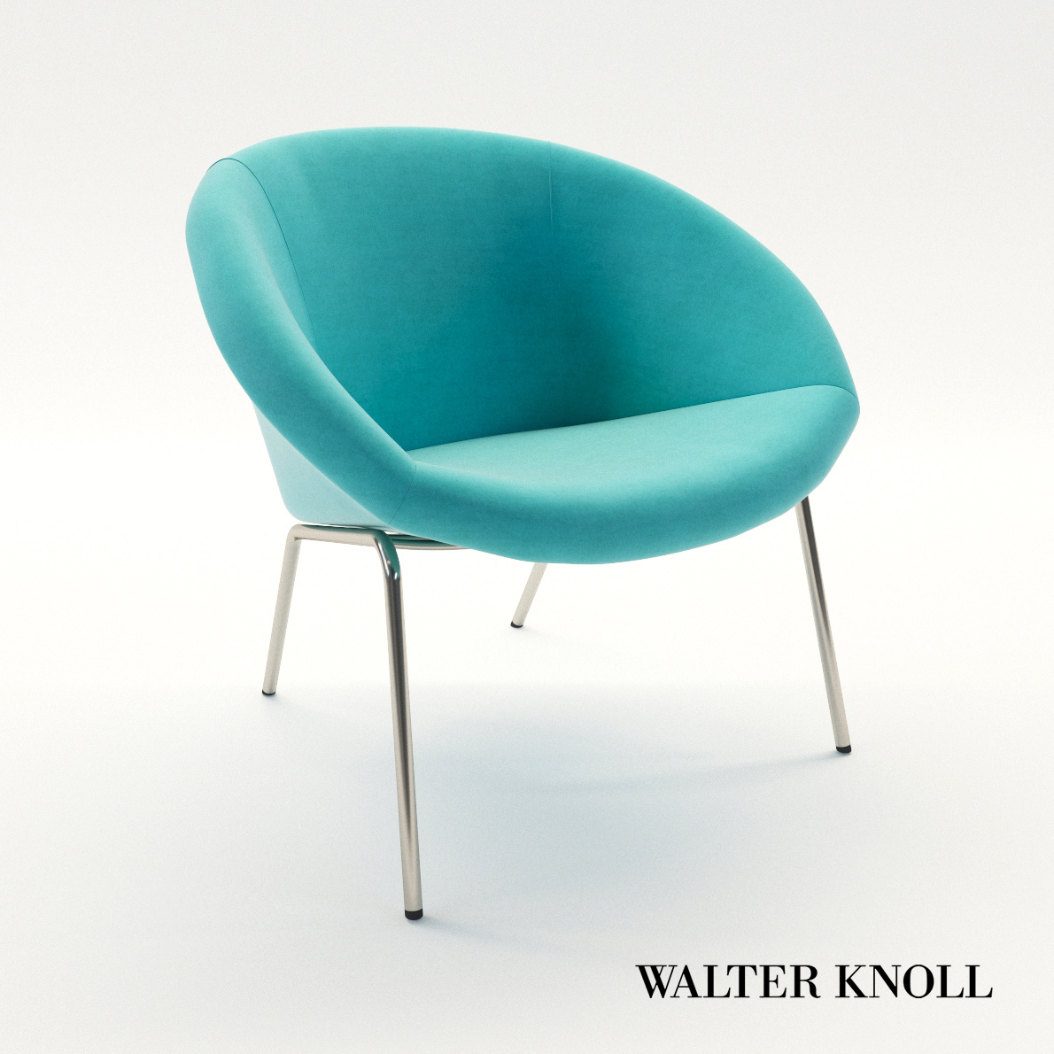 3d model Chair 369 – Design by Walter Knoll Team