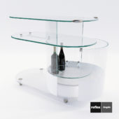 3d model Mobile Onis bar trolley from Relax Angelo – Design by Reflex