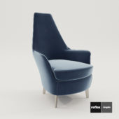 3d model Armchair Nuvola Poltrona from Reflex Angelo – Design by Tulczinsky