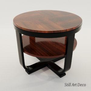 3d model Coach table – Art Deco 1920