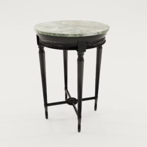 3d model Salon table of classicistic style – France about 1900