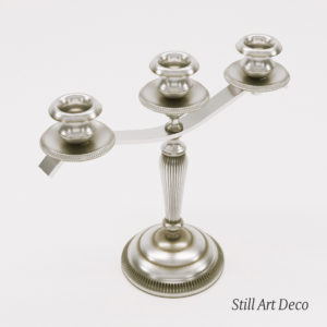 3d model candelabra – Art Deco 1920, France