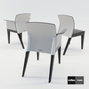 3d model Chairs Sit from Reflex Angelo – Design by Pininfarina