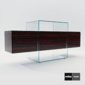 3d model Sideboard Kubo from Reflex Angelo – Design by Riccardo Lucatello