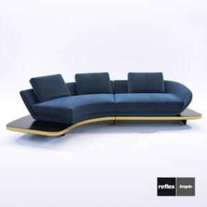 3d model Sofa Sengo model C from Reflex Angelo – Design by Pininfarina