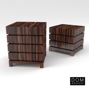 3d Model Commode Makao 3 And 4 From Dom Edizioni - Design By Andrea Fogli