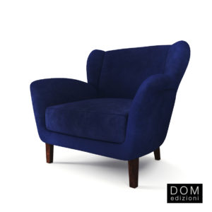 3d model Armchair Dadá from Dom Edizioni – Design by Andrea Fogli