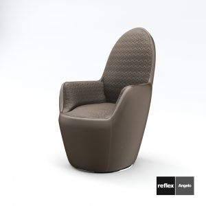 3d Model Armchair Swan-Poltrona From Reflex Angelo - Design By Tulczinsky