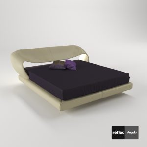 3d Model Bed Nuvola From Reflex Angelo - Design By Reflex